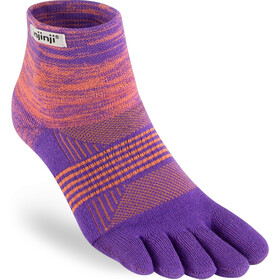 Injinji Trail Midweight Mini Crew Socks Women jupiter